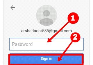 login to google in hindi